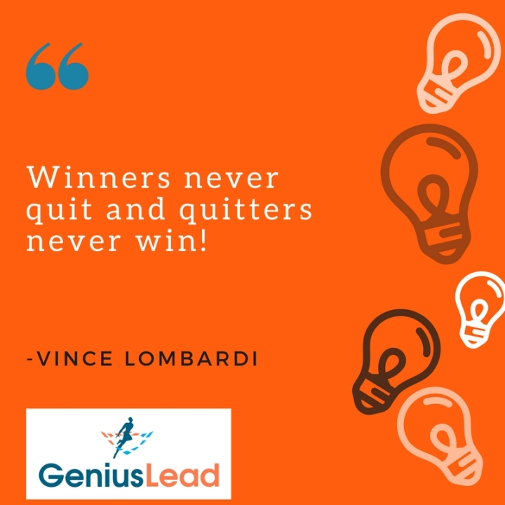Motivational Success Quotes - Genius Lead