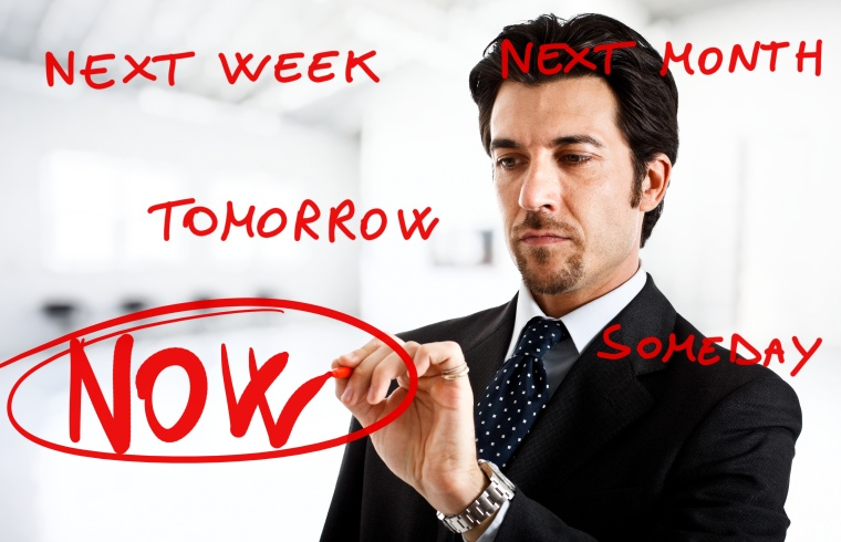 Don't procrastinate! Just Startup